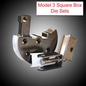 JD Squared Model 32 Tube Bender Round Metric Tube Die Set
