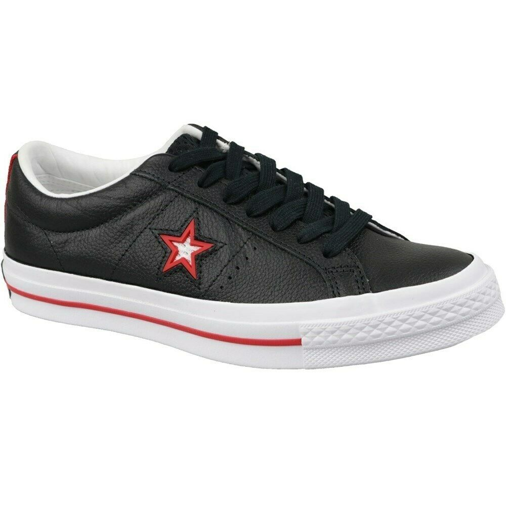 Converse One Star 161563C black halfshoes