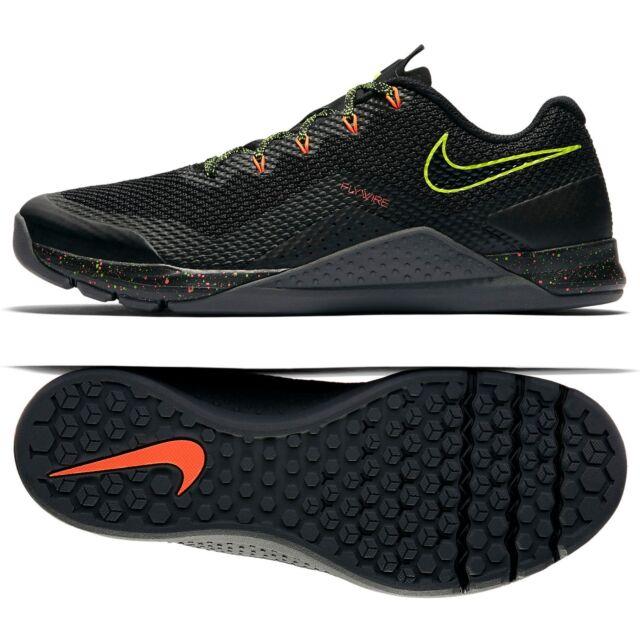 newest 361f0 ccd76 Nike Metcon Repper DSX 898048-007 Black Volt Crimson Men Training Shoes Sz