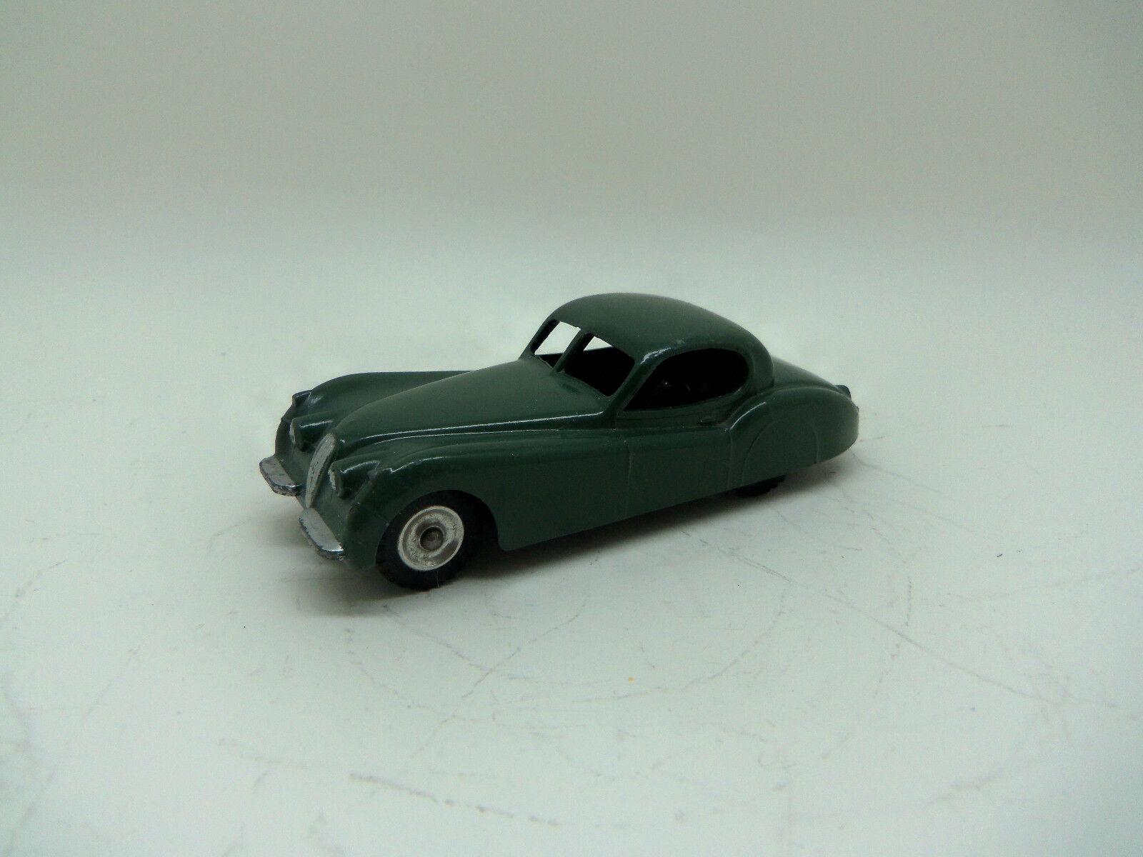 Dinky Toys 157 Jaguar XK 120 Foncé Vert Sauge late version avec Spun Hubs-SUPERBE