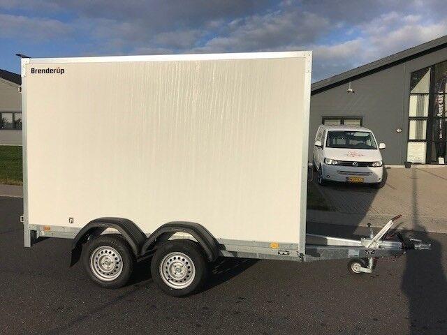 Cargotrailer, Brenderup 7300 TB m/døre Årg. 2018,