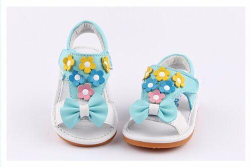 5 6 7 8 9 10 Freycoo Genuine Leather Kids Girls Shoes Sandals 6232BL sz