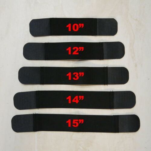 """2/"""" x 10/"""" Replacement Body Armor Bullet Proof Vest Carrier Straps Set of Two"""