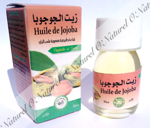 Huile-de-Jojoba-100-Pure-amp-Naturelle-30ml-Jojoba-Oil-Aceite-de-Jojoba