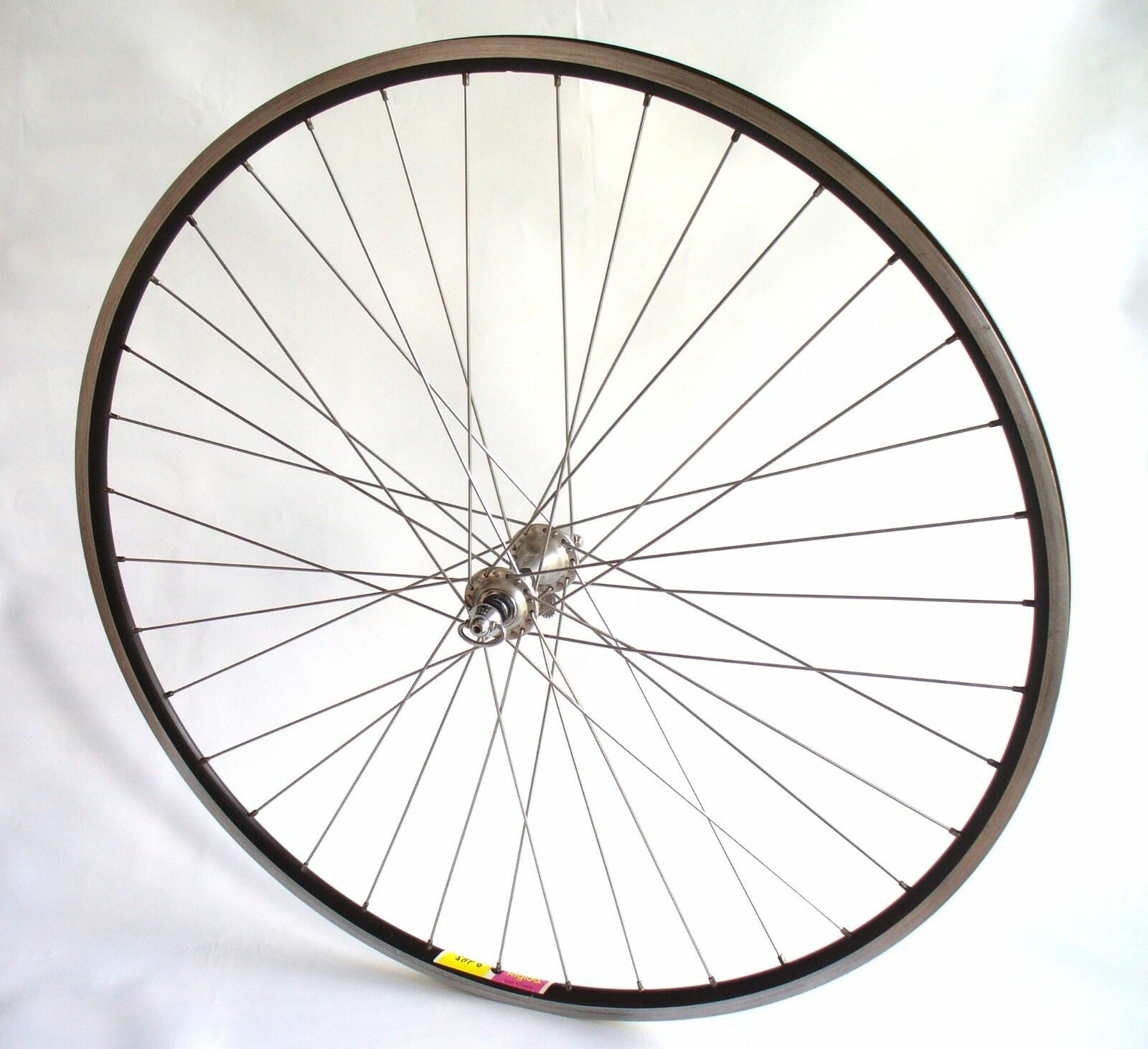 Rare 28  Campagnolo 1043 Record Rigida SHP-6 Vintage Road Racing Front Wheel