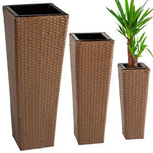 3er set blumentopf blumenk bel pflanzk bel pflanzenk bel. Black Bedroom Furniture Sets. Home Design Ideas