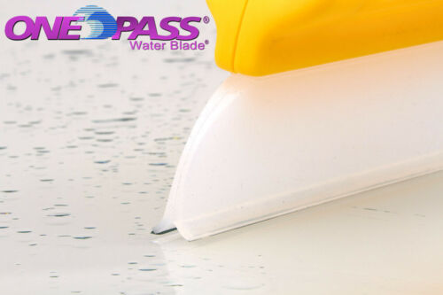 """One Pass Waterblade Silicone Squeegee Y-Bar 14/"""" Yellow for Home  Auto RV Fleet"""
