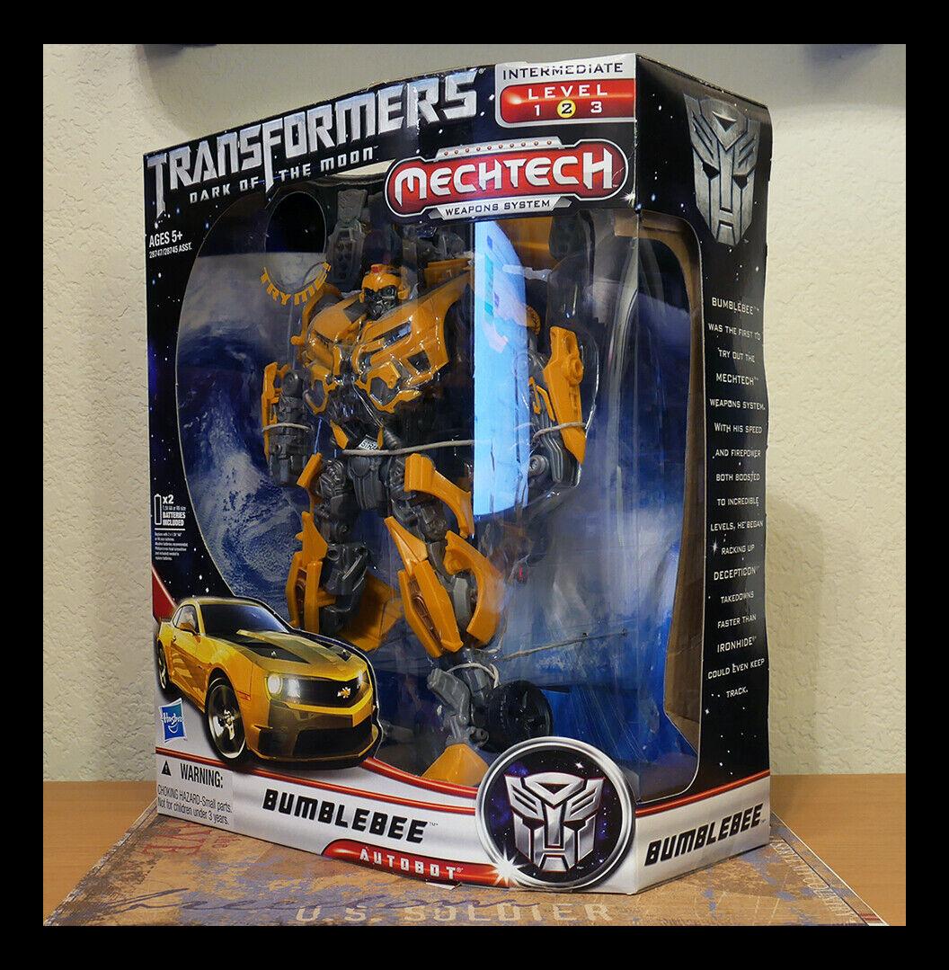 Bumblebee Transformers Dotm Clase Líder de Sistema de Armas Mechtech