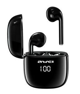 Awei-T28P-TWS-Bluetooth-Earphones-Wireless-Earbuds-Waterproof-LED-Display-Touch