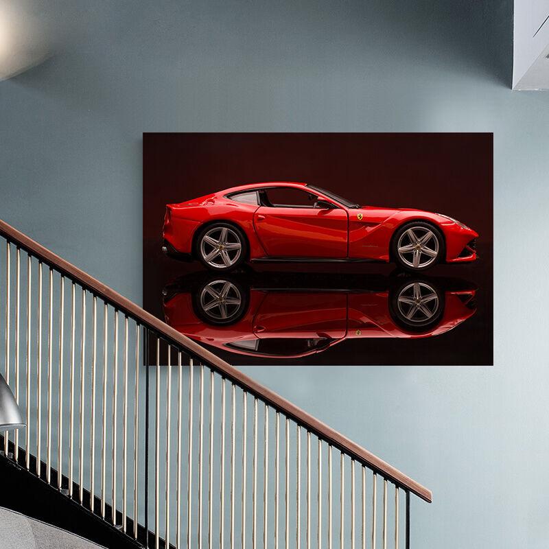 3D rot Mode Sportwagen 953 Fototapeten Wandbild BildTapete AJSTORE DE Lemon