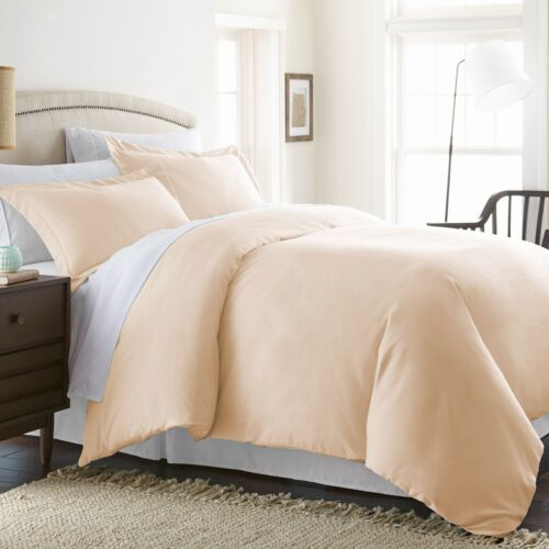 Premium Ultra Soft The Home Collection 3 Piece Premium Duvet Cover Set