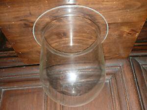 grosses-altes-Ersatzglas-fuer-Schiffslampe-Aussenlampe-mit-Auflagerand-Griffrand