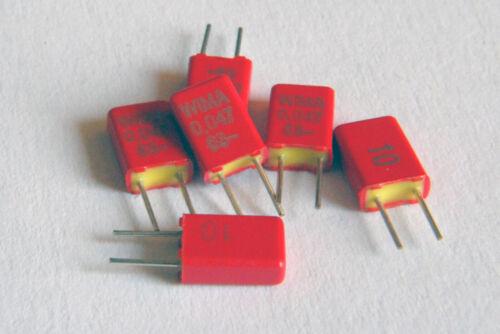 6 x WIMA MKS02 0.047uF 47nF 63VDC 40VAC 10/% Capacitor MKS0C024700B00KSSD