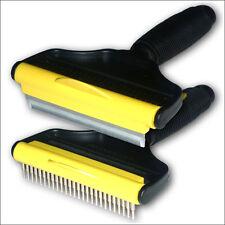 Wide deshedding brush comb horses dogs pony large