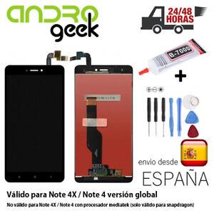 Pantalla-LCD-TACTIL-Xiaomi-Redmi-Note-4X-Note-4-Global-Snapdragon-Negra-24-48h