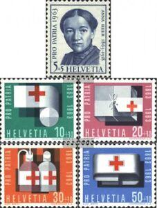 Schweiz-775-779-kompl-Ausgabe-gestempelt-1963-Pro-Patria