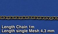Royal Model Scale Chain 1m Total Length 4.3mm Per Link Diorama Accessory 522 on sale