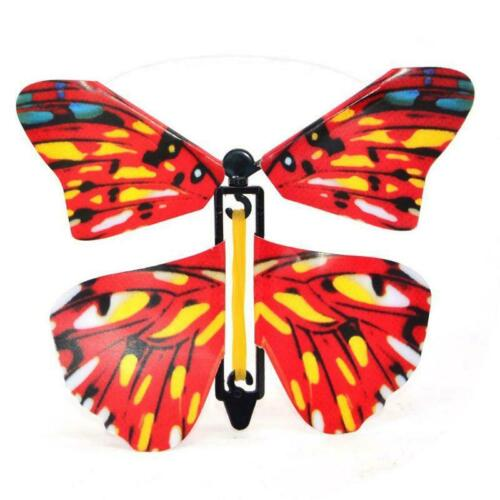 10 PCS Flying  Butterfly Magic Flying Butterfly Card Magic  Surprise Gift Card
