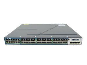 Cisco-WS-C3560X-48T-L-48-Port-Gigabit-Switch-w-C3KX-NM-1G-1-Year-Warranty