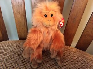 """Ty Beanie Baby """"CAIPORA"""" the Monkey MWMT 2005 / Ty Store Exclusive WWF"""