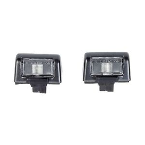 Ford-Transit-1985-2013-Connect-2002-2013-Pair-2x-Rear-Number-Plate-Light-Lamp