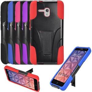 timeless design ac380 203e7 Details about Phone Case For Alcatel Onetouch Pixi Glory LTE A621B Rugged  Cover with Kickstand
