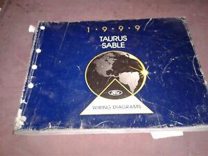1999 Ford Taurus / Mercury Sable Factory Wiring Diagrams ...