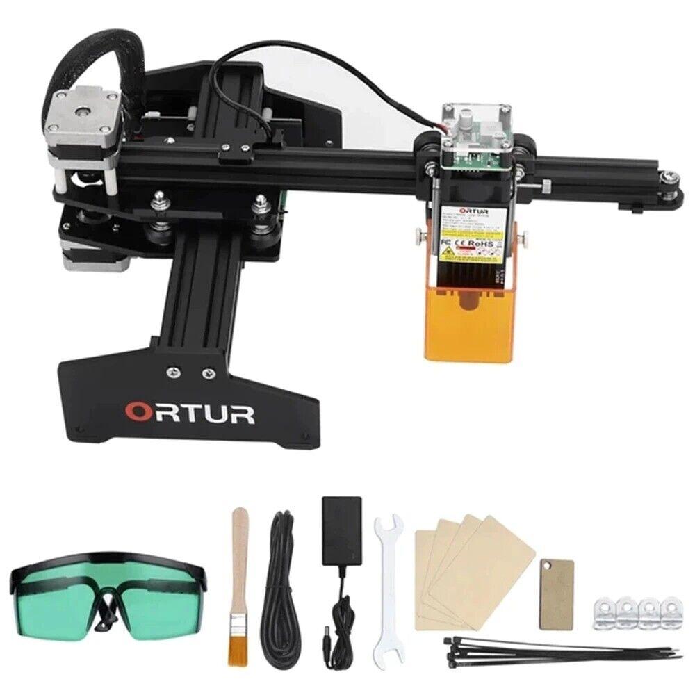 ORTUR Laser Master Engraver Upgraded CNC Cutting Machine Fixed-Focus Engraving