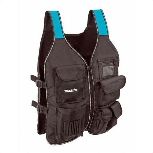 Makita P-72089 Worker's Tool Vest for Carpenters Universal New Size 640 x 500 mm