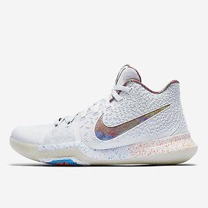 premium selection 27ba2 e6338 Details about Nike Kyrie 3 EYBL Sz 17 ds limited