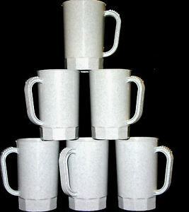 75-1 Pint Granite Mugs Steins Wholesale Lot Made in USA Lead Free No BPA*