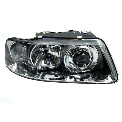 Headlamp Headlight Right O/S Driver Side With Bulb Holder Audi A3 8L1 2001-2003