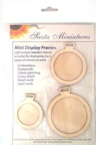 Mini Display frames Siesta Miniatures Circles