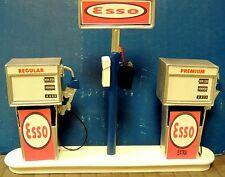 ESSO Station Gas Pump Island (Ready to Display) 1:18-1:24 Scale NWB
