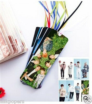 K-POP 8pcs BTS Bookmark KPOP Bookmarks Stationery