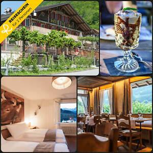 Kurzurlaub Schweiz Lungernsee 3 Tage 2 Personen Hotel Hotelgutschein Wochenende