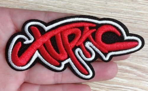 1888 Tupac Shakur~Hip Hop~Rap~Embroidered Applique Patch Iron Sew On