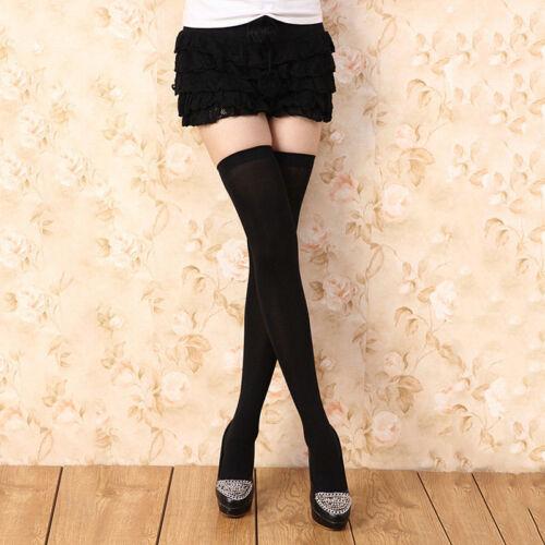 Stivali al Ginocchio Calzini Donna coscia alta calze UK Venditore Spedizione lo Stesso Giorno
