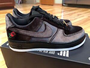5013504326e Nike Air Force 1 07 QS Black Red Velvet Rose AH8462 003 Men s 5 ...