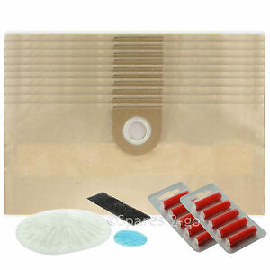 10-Vax-6131-7131-6151SX-5120-8131-Vacuum-Dust-Bags-Air-Fresheners-Filter-Set