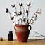 5//10Pcs Natural Dry Cotton Stems Farmhouse Artificial Flower Filler Floral Decor