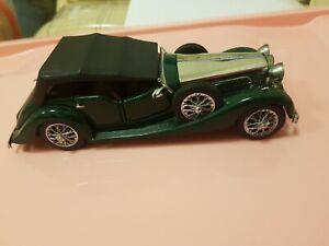 1938-Alvis-4-3-litros-4-asientos-Tourer-Franklin-Mint-precision-Die-cast-Modelo-de-Coche