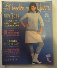 Needle and Yarn Pattern Magazine Winter Volume 1 Number 6 Hard to Find Vintage
