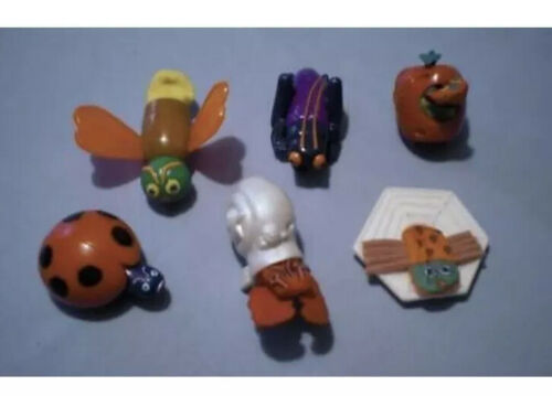 Eric Carle 1996 Happy Meal FINGER PUPPET Toys Full Set-Brand New