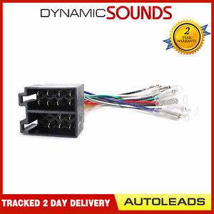 Autoleads PC2-36-6 - Universal Female ISO To Bullet Harness Adaptor