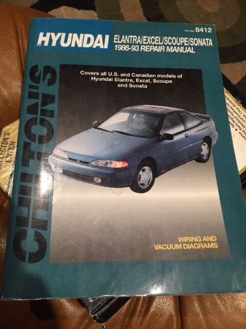 Chilton Repair Manual 86