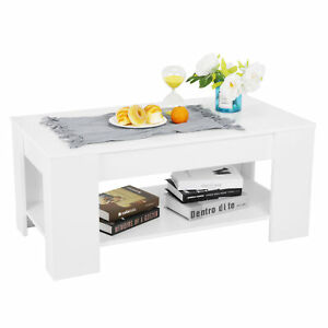 Astonishing Details About Modern Lift Up Top Tea Coffee Table Hidden Storage Compartment Furniture White Ibusinesslaw Wood Chair Design Ideas Ibusinesslaworg