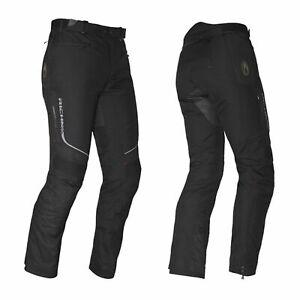 Richa Colorado Imperméable Textile Moto Femmes Pantalon - Noir