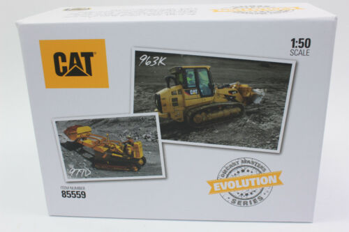 963K Laderaupe  Evolution Serie   1:50 NEU Diecast Master 85559 SET CAT 977