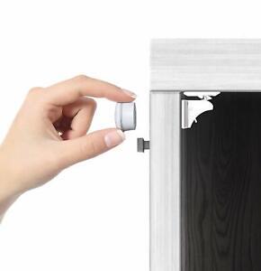 Magnetic-Cabinet-Locks-Set-4-Locks-1-Key-for-Baby-Kids-Safety-Proofing